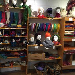 Accessoires de mode en laine