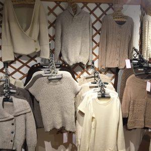 pulls et vêtements en laine