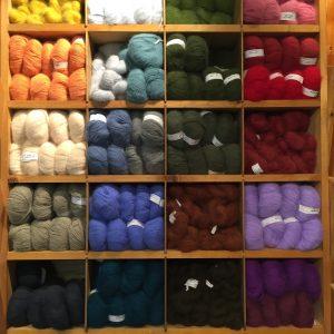 La boutique de laines et pelotes naturelles