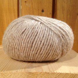 pelote de laine alpaga alpalaine beige