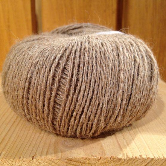pelote de laine 100% alpaga beige
