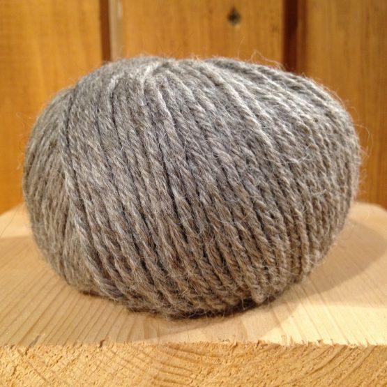 pelote de laine alpaga alpalaine gris
