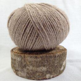 pelote alpaga mérinos couleur beige
