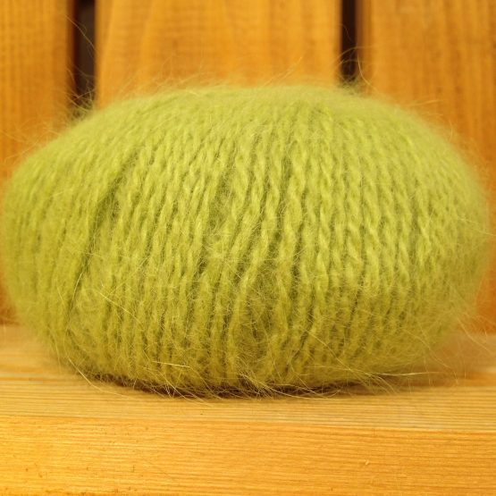 pelote angora douceur vert anis