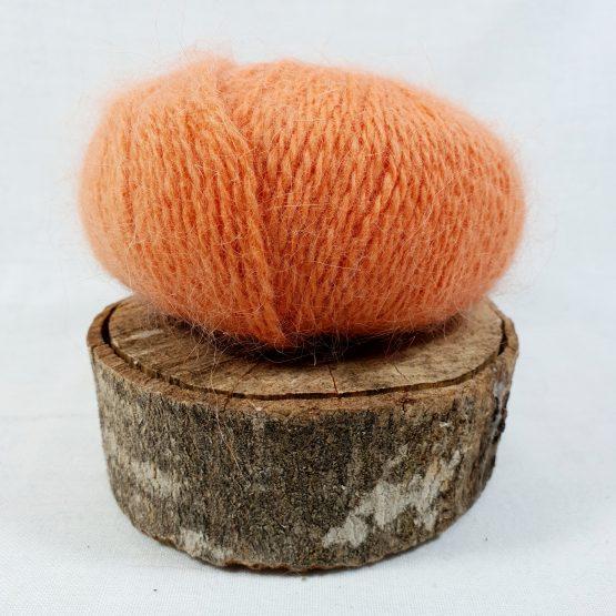 pelote angora français couleur flamboyant