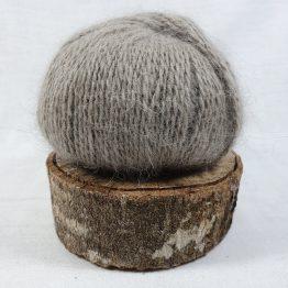 pelote angora français couleur marron glacé