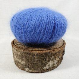 pelote en angora français couleur pervenche