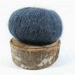 pelote en angora français couleur taupe