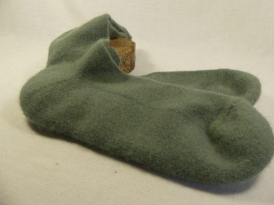 chaussettes en angora français couleur bronze