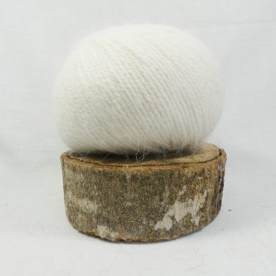 pelote angora douceur blanc