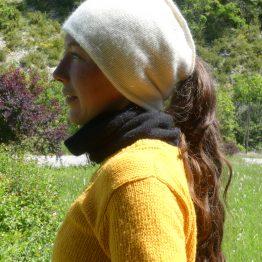 bonnet reversible en angora
