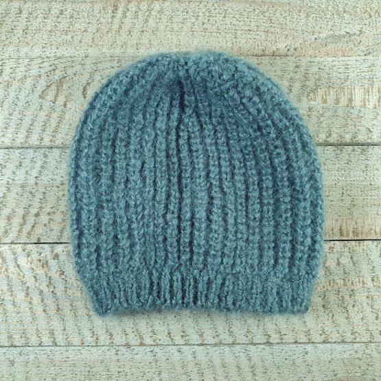 bonnet mohair ecume
